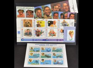 Mikronesien, Persönlichkeiten aus JG 1993-97, 5 Sätze und 1Klbg., Lady Diana