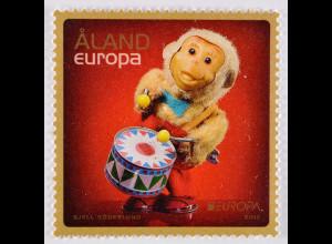 Aland 2015 Michel Nr. 407 Altes Spielzeug Europa Spielzeugaffe