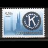 Luxemburg 2001 Michel Nr. 1558 Kiwanis Internantional Abb. Kiwanis-Emblem