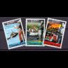 Luxemburg 2001 Michel Nr. 1532-34 Freiwillige uprofessionelle Rettungskräfte