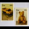 Irland Èire 2015 Michel Nr. 2131-32 Europa Altes Spielzeug Teddybär
