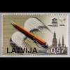 Lettland Latvia 2015, Michel Nr. 945, 25. J. Unabhängigkeitserklärung, 1 Wert