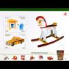 Madeira 2015 Block 63 Europa Altes Spielzeug Schaukelpferd Taxi