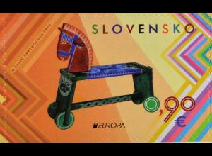 Slowakei Slovakia 2015, Michel Nr. 764, Europa - Altes Spielzeug, 1 Wert aus MH