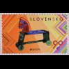Slowakei Slovakia 2015, Michel Nr. 763, Europa - Altes Spielzeug, Spielzeugpferd