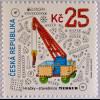 Tschechische Republik 2015, Nr. 846, Europa - Altes Spielzeug, Spielzeugkran