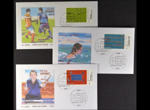 Bund BRD Ersttagsbrief FDC 2012 Nr. 2924-26 Sporthilfe Spitzensport
