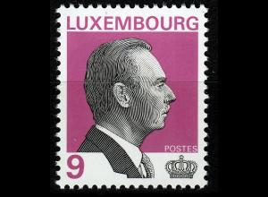 Luxemburg 2000 Michel Nr. 1498 Freimarke Großherzog Jean von Luxemburg