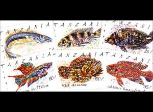 Fische Glanzauge Rote Cichilde Prachtkärpfing Riff Steinfisch 7 Werte