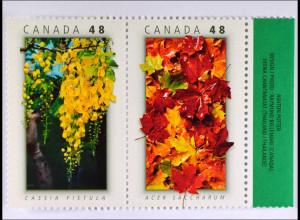 Kanada 2003 Michel Nr. 2147-48 Echter Zuckerahorn Manna Freundschaft Thailand