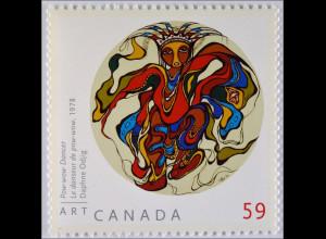 Kanada 2011 Michel Nr. 2699 Gemälde Daphne Odjig Pow-wow-Tänzer