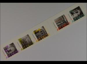 Architektur im Art Deco Stil Briefmarken aus Canada vom Jahr 2011 selbstklebend