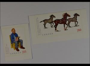 Kanada Canada 2012, Nr. 2803-04, Zeitgenössische Plastik, Vincent und Capillery