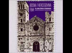 Bosnien Herzegowina Kroatische Post Mostar 2015 Michel Nr. 404 Leiden Herzegow