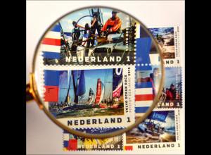 Hochsee Segelregatta Volvo Ocean Race Niederlande Briefmarkensatz