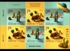 Bosnien Herzegowina Serbische Republik Michel Nr 647-48 DoDuE Altes Spielzeug