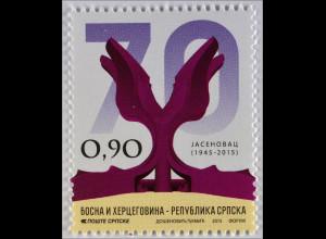 Sieg 2. Weltkrieg Bosnien Herzegowina Serbische Republik 2015 Michel Nr. 646