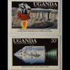 Erste bemannte Mondlandung 8 Werte Landegestell der Mondfähre Eagle