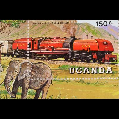Lokomotiven der East African Railways Dampflokomotiven Garret und Class