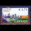Lettland Latvia 2015 Michel Nr. 938 750 Jahre Jelgava