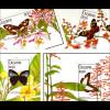 Schmetterlinge Phyciodes clio Thecla hemon Nymphidium caricae Heliconius aoede