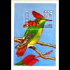 Einheimische Vögel Büschel Kokettkolibri Tufted Coquettes Blockausgabe