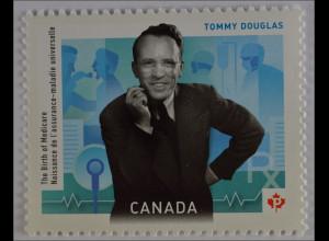Kanada 2012 Michel Nr. 2848, 50 Jahre Krankenversicherungsgesetz v. Saskatchewan