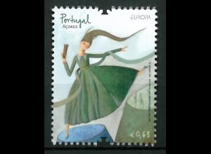 Portugal Azoren 2010 Michel Nr. 561 Europa Kinderbücher Burgfräulein