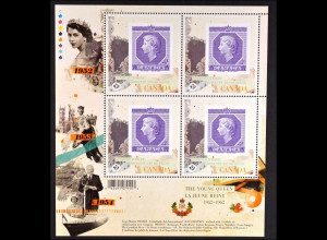 Kanada 2012, Michel Nr. 2796 Kleinbogen, Thronbesteigung Königin Elisabeth II.