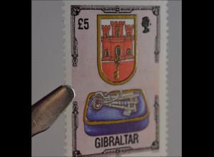 Gibraltar 6. Juni 1994 Michel Nr. 694 Architektonisches Erbe maurische Burg