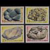Zypern griechisch Cyprus 1998, Michel Nr. 907-10, Mineralien, Grüner Jaspis, ...