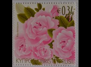 Zypern griechisch Cyprus 2011 Michel Nr. 1204 Duftende Pflanzen Zyperns Rose