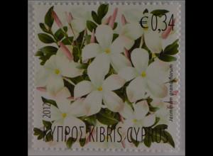Zypern griechisch Cyprus 2012 Nr. 1235 Duftende Pflanzen Zyperns II Jasminduft