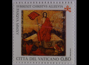 Vatikan Vatican 2015 Michel Nr. 1833 Ostern Auferstehung Christi Gemälde