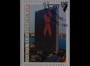 Vereinte Nationen UNO UN Wien 2002 Nr. 379 Gemeinsames Programm Aidsbekämpfung