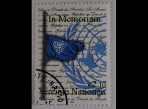Vereinte Nationen UNO UN Wien 2003 Nr. 405 Gedenken der im Dienste d. Friedens