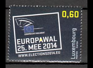 Luxemburg 2014 Michel Nr. 2009 Achte Direktwahlen zum Europäischen Parlament