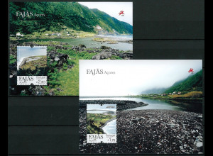 Portugal Azoren 2012 Block 50-51 Fajas Küsten der Azoren
