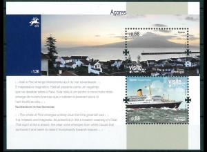 Azoren Michel Nr. Block 49 ** Jahr 2012 Europa - Besuche