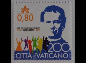 Vatikan Vatican Cittá del Vaticano 2015, Michel Nr. 1836, Hl. Johannes Bosco