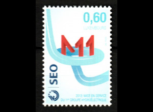 Luxemburg 2013 Michel Nr. 1985 Inbetriebnahme 11. Turbine i. Pumpspeicherwerk