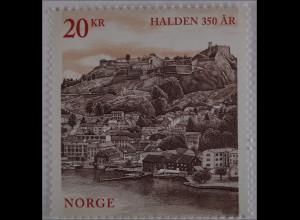 Norwegen Norway 2015, Michel Nr. 1879, 350 Jahre Stadt Halden, Stadtansicht