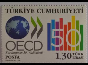 Türkei 2011, Nr. 3880, Organisation für wirtsch. Zusammenarbeit u. Entwicklung