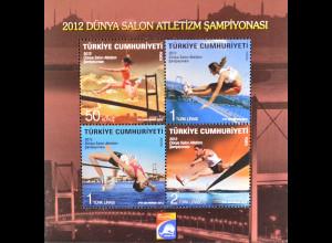 Türkei 2012, Block 84, 14. Leichtathletik-Hallenweltmeisterschaft in Istanbul
