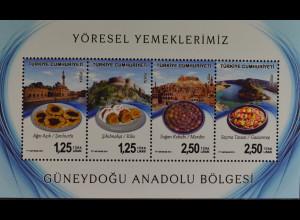 Türkei 2014, Block 119, Regionale Küche (III) - Gerichte aus Südostanatolien