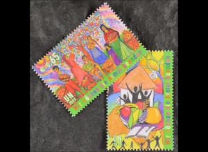 Vereinte Nationen UNO UN Wien 2008 Nr 548-49 Int. Tag d. Beseitigung d. Armut