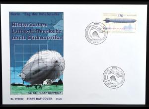 Bund BRD Ersttagsbrief FDC Nr. 2589 aus Block Nr. 69 Tag d.Briefmarke 1.3.2007