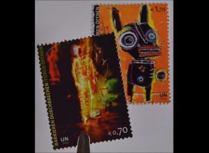 Vereinte Nationen UNO UN Wien 2013 791-92 Barrieren durchbrechen Elektroman