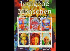 Vereinte Nationen UNO UN Wien 2009 Block 25 Indigene Menschen Bukat Prince