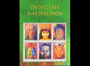 Vereinte Nationen UNO UN Wien 2012 Bl. 32 Indigene Menschen Stephen Bennett